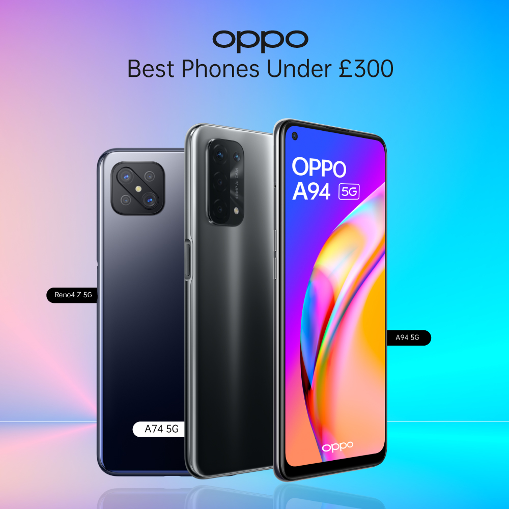 OPPO Android Phones Under £300