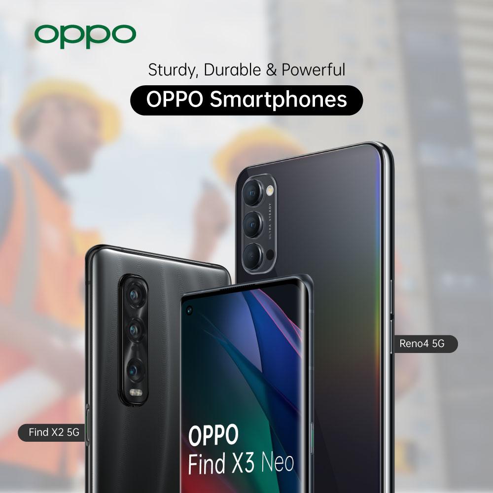 OPPO Mobile Phone for Builders